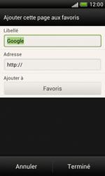 HTC Desire X - Internet et roaming de données - Navigation sur Internet - Étape 8