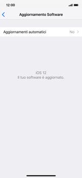 Apple iPhone XS - Software - Installazione degli aggiornamenti software - Fase 8