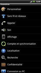HTC X515m EVO 3D - MMS - configuration manuelle - Étape 5