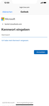 Apple iPhone XR - E-Mail - Konto einrichten (outlook) - 7 / 12