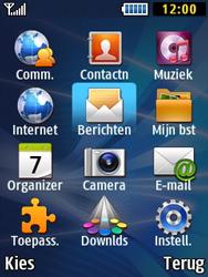 Samsung B2710 Xcover 271 - SMS - Handmatig instellen - Stap 3