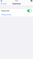Apple iPhone 7 - iOS 13 - Beveiliging - pas de pincode voor je simkaart aan - Stap 5