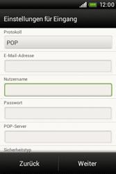 HTC A320e Desire C - E-Mail - Konto einrichten - Schritt 8