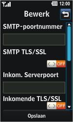 LG GD510 Pop - e-mail - handmatig instellen - stap 17