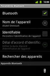 Alcatel OT-983 - Bluetooth - Jumelage d