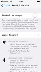 Apple iPhone 5s - Internet - Mobilen WLAN-Hotspot einrichten - 5 / 9