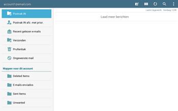 Samsung Galaxy Tab4 10.1 4G (SM-T535) - E-mail - Instellingen KPNMail controleren - Stap 5