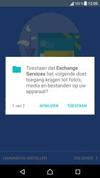 Sony Xperia X (F5121) - E-mail - Handmatig Instellen - Stap 10