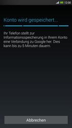 HTC One Max - Apps - Konto anlegen und einrichten - 16 / 22