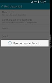 Samsung Galaxy Note Edge - Rete - Selezione manuale della rete - Fase 9
