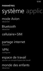 Nokia Lumia 530 - Internet et connexion - Partager votre connexion en Wi-Fi - Étape 4