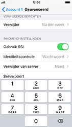 Apple iphone-se-met-ios-12-model-a1723 - E-mail - Handmatig instellen - Stap 24