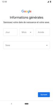 Google Pixel 3 - Applications - Créer un compte - Étape 8