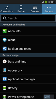Samsung Galaxy Note III LTE - Applications - How to uninstall an app - Step 5