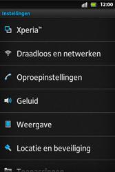 Sony ST27i Xperia Go - Voicemail - Handmatig instellen - Stap 4