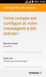 Alcatel U3 - E-mails - Ajouter ou modifier votre compte Yahoo - Étape 11