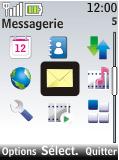 Nokia 2720 fold - E-mail - Configuration manuelle - Étape 3