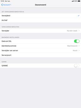 Apple ipad-9-7-ios-12 - E-mail - Account instellen (POP3 met SMTP-verificatie) - Stap 22