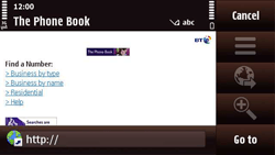 Nokia N97 Mini - Internet - Internet browsing - Step 12
