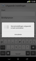Sony D2005 Xperia E1 - E-mail - Account instellen (POP3 zonder SMTP-verificatie) - Stap 15