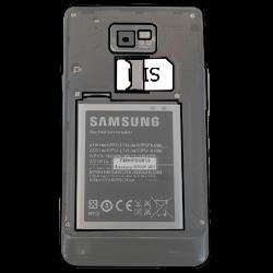 Samsung Galaxy S2 Plus - SIM-Karte - Einlegen - 1 / 1