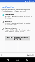 Sony Xperia X Performance (F8131) - E-mail - Configuration manuelle (outlook) - Étape 11