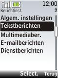 Nokia 2720 fold - SMS - Handmatig instellen - Stap 5