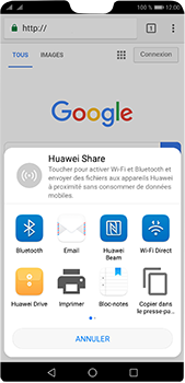 Huawei P20 pro - Internet et connexion - Naviguer sur internet - Étape 21
