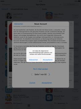 Apple iPad Air 2 - Apps - Konto anlegen und einrichten - 22 / 35