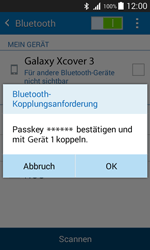 Samsung G388F Galaxy Xcover 3 - Bluetooth - Geräte koppeln - Schritt 9