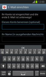 Samsung Galaxy Trend Lite - E-Mail - Manuelle Konfiguration - Schritt 18