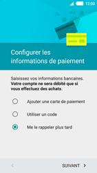Sony Xperia M4 Aqua - Premiers pas - Créer un compte - Étape 18