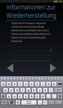 Samsung Galaxy Tab 3 7-0 - Apps - Konto anlegen und einrichten - 2 / 2