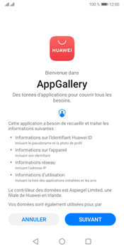 Huawei Y5P - Applications - Créer un compte - Étape 3