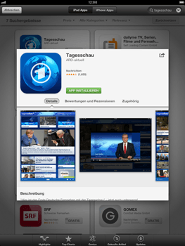 Apple iPad mini - Apps - Herunterladen - Schritt 7
