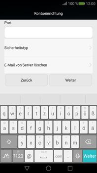 Huawei Mate S - E-Mail - Konto einrichten - Schritt 10