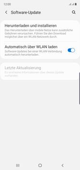 Samsung Galaxy Note 10 - Software - Installieren von Software-Updates - Schritt 5