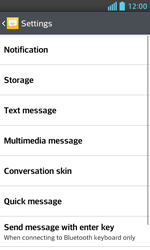 LG E460 Optimus L5 II - SMS - Manual configuration - Step 6