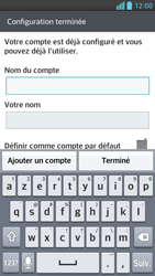 LG Optimus F6 - E-mails - Ajouter ou modifier un compte e-mail - Étape 15