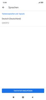Xiaomi RedMi Note 7 - Startanleitung - So fügen Sie eine Tastatursprache hinzu - Schritt 7
