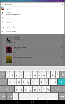 Huawei MediaPad T1 (10.0) LTE - Apps - Herunterladen - 0 / 0