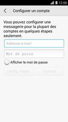 Huawei Ascend Y550 - E-mail - Configuration manuelle - Étape 6