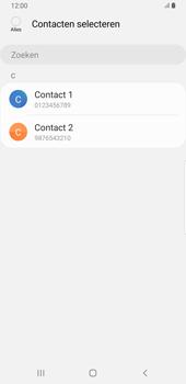 Samsung galaxy-note-8-sm-n950f-android-pie - Contacten en data - Contacten kopiëren van toestel naar SIM - Stap 9