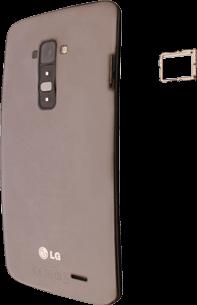 LG D955 G Flex - SIM-Karte - Einlegen - Schritt 4