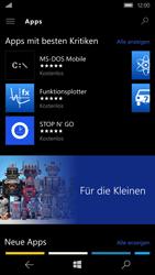 Microsoft Lumia 950 - Apps - Herunterladen - Schritt 9