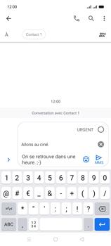 Oppo A15 - Contact, Appels, SMS/MMS - Envoyer un MMS - Étape 13