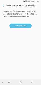Samsung Galaxy A8 (2018) - Appareil - Réinitialisation de la configuration d