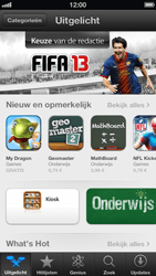 Apple iPhone 5 (iOS 6) - apps - app store gebruiken - stap 3