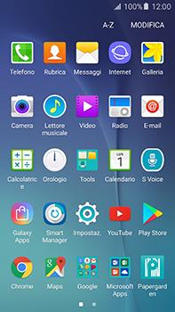 Samsung Galaxy A8 - Applicazioni - Configurazione del negozio applicazioni - Fase 3