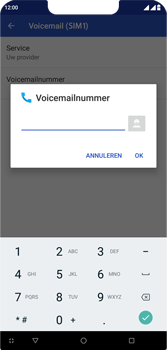 Wiko View 2 Plus - Voicemail - handmatig instellen - Stap 11